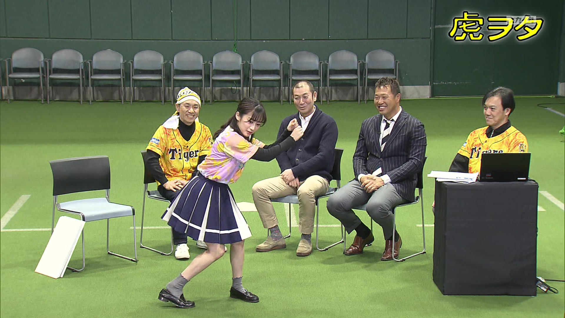 【川上千尋】ちっひー出演 2020年3月度 に放送された「虎ヲタ♯3」の画像