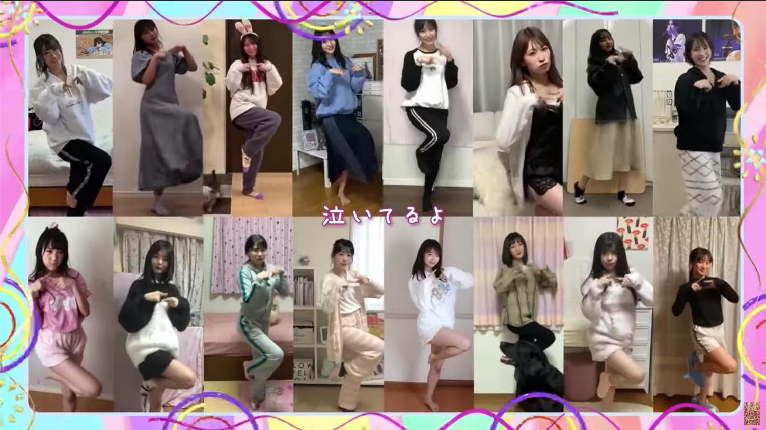 【NMB48】23rdシングルが発売延期に。You Tubeで「だってだってだって」MV #stayhome ver.が公開