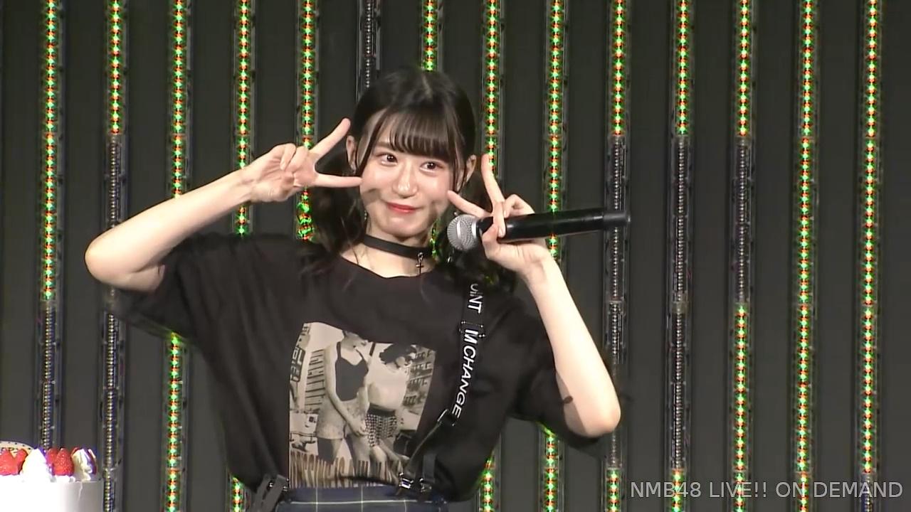 【NMB48】上西怜19歳の生誕祭まとめ。『ユニットとしてもNMB48グループとしても必要とされるメンバーに』【手紙・スピーチ全文掲載】