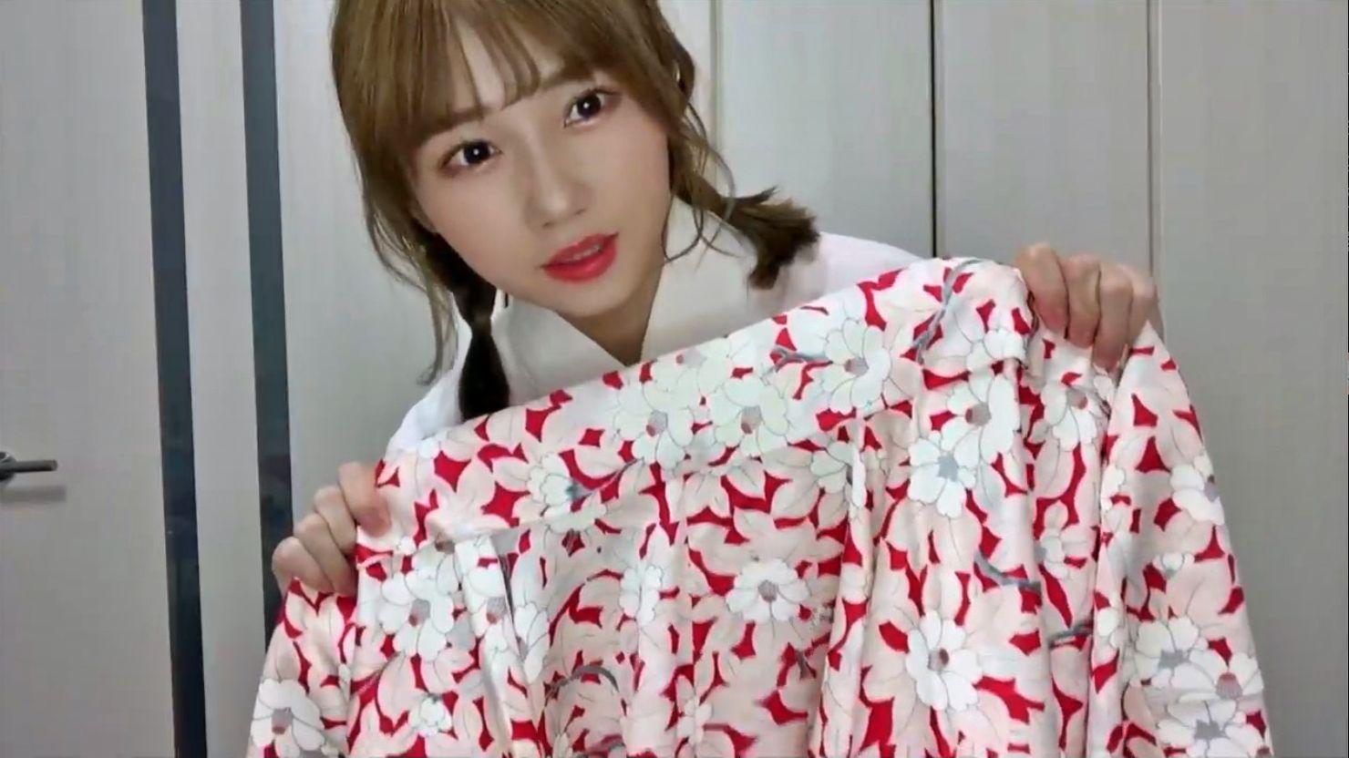 【菖蒲まりん】ひとりで着物を可愛く着る「着物の着付け」動画がなんか良い