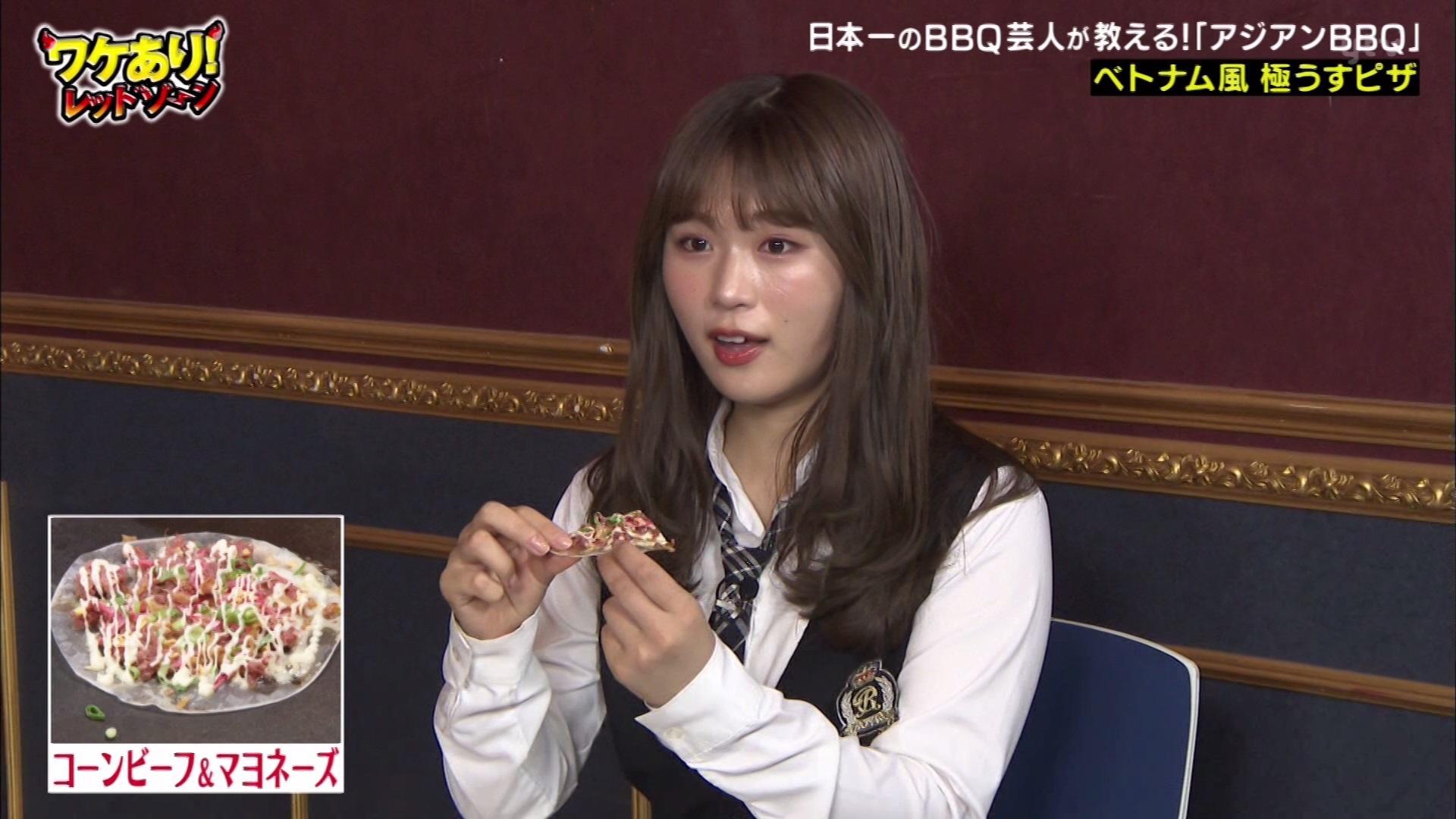 【渋谷凪咲】なぎさ出演 7月11日放送「ワケあり!レッドゾーン」の画像。おうちBBQゾーン後編