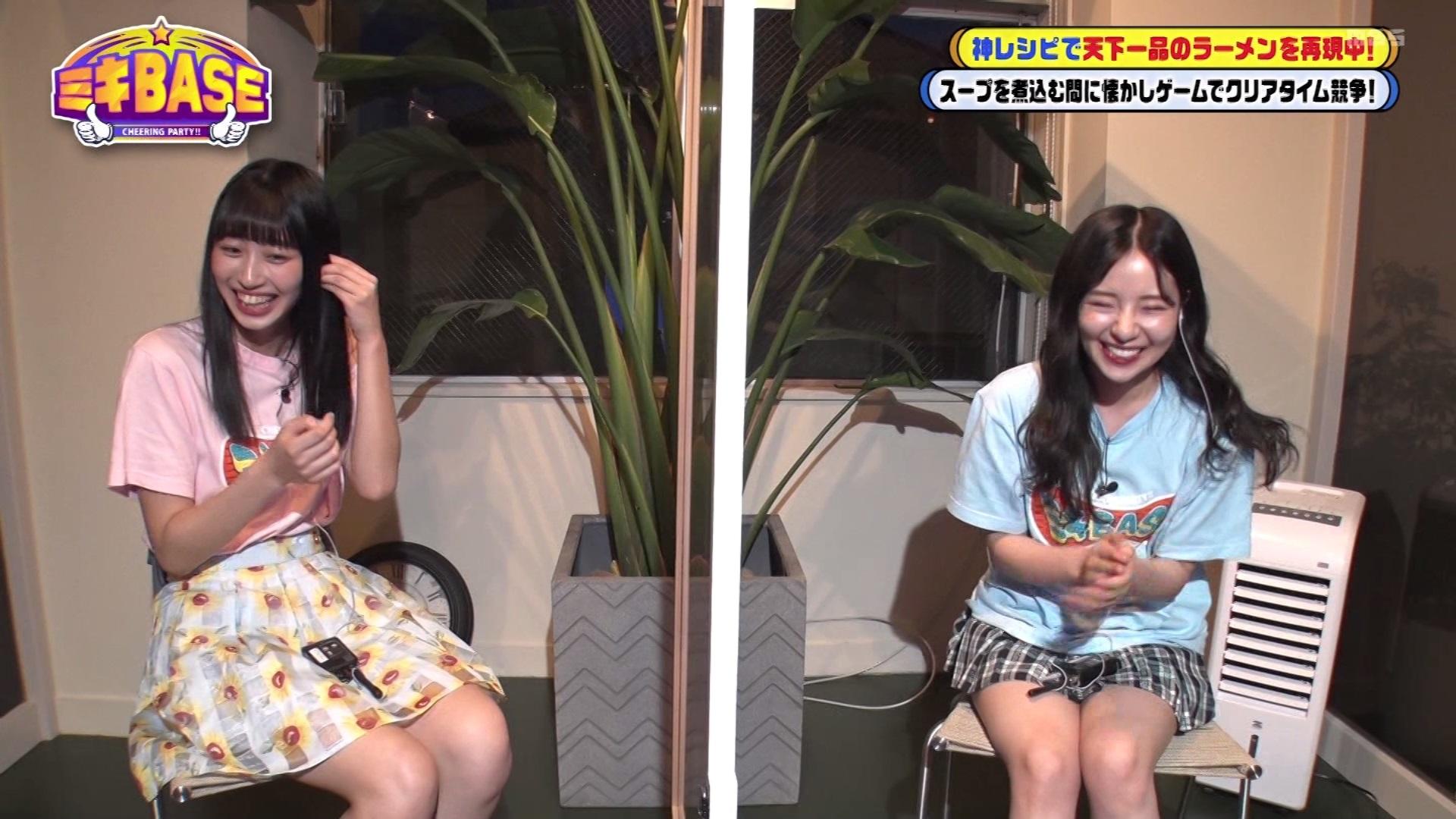 【村瀬紗英】さえぴぃ出演 7月29日に放送された「ミキBASE」#18の画像