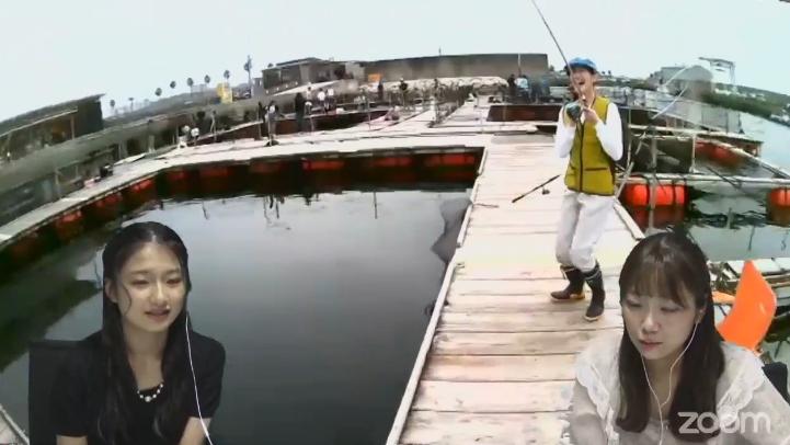 【南羽諒/坂本夏海/塩月希依音】新YNN「リモートフィッシング」生配信の実況と画像など