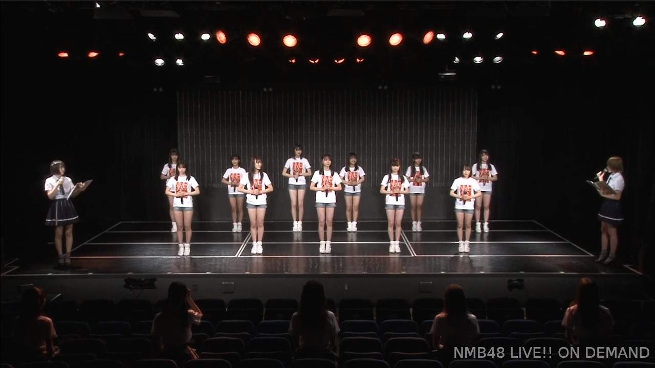 【NMB48】7期生11名がお披露目→自己紹介と特技披露。