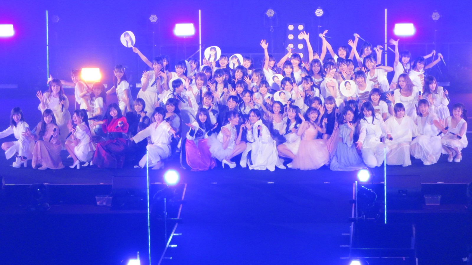 【NMB48】NMB48 10th Anniversary LIVE~心を一つに、One for all, All for one~セットリストとライブ画像など。