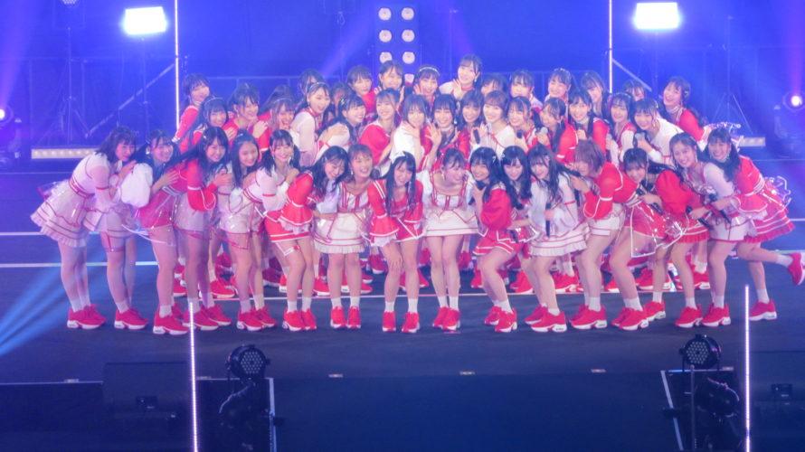 【NMB48】NMB48 吉田朱里卒業コンサート ~さよならピンクさよならアイドル~のセットリストと画像など