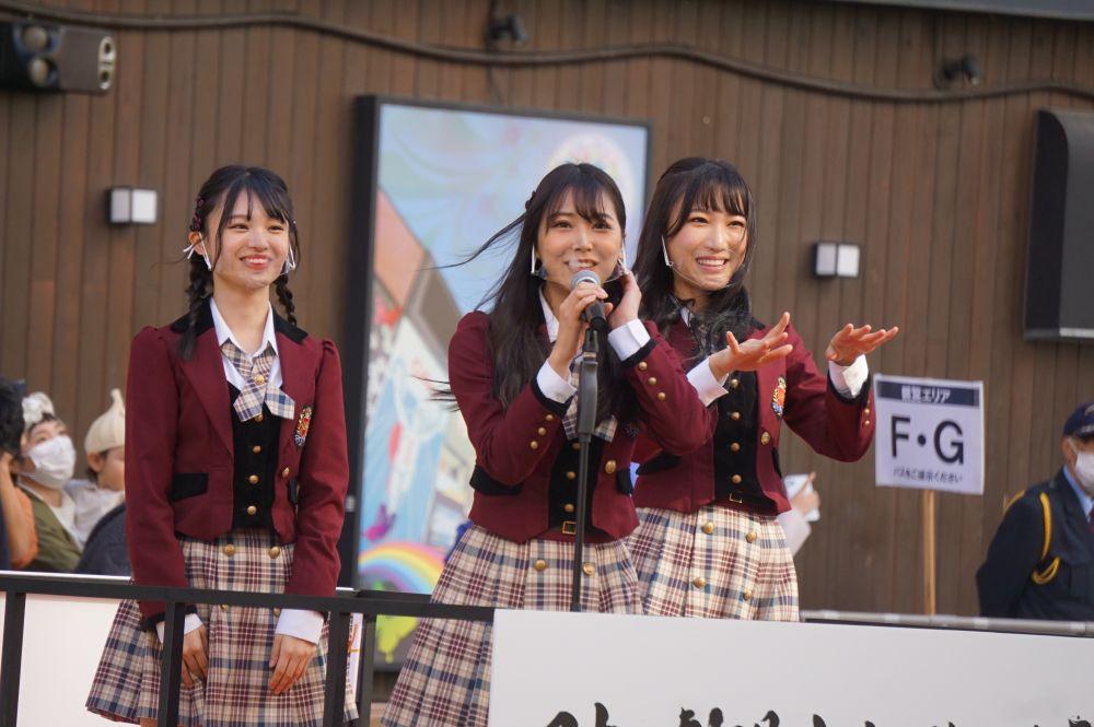 【白間美瑠/新澤菜央/原かれん】11月3日に開催された『日本劇場文化 復活祈願祭』の様子など
