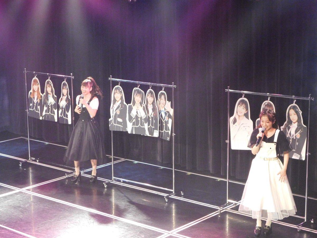 【NMB48】冠ライブ『N'』がチームNメンバー2人が交代出演で継続