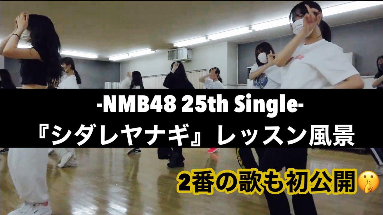 【NMB48】みるるんチャンネルで「シダレヤナギ」レッスン動画が公開